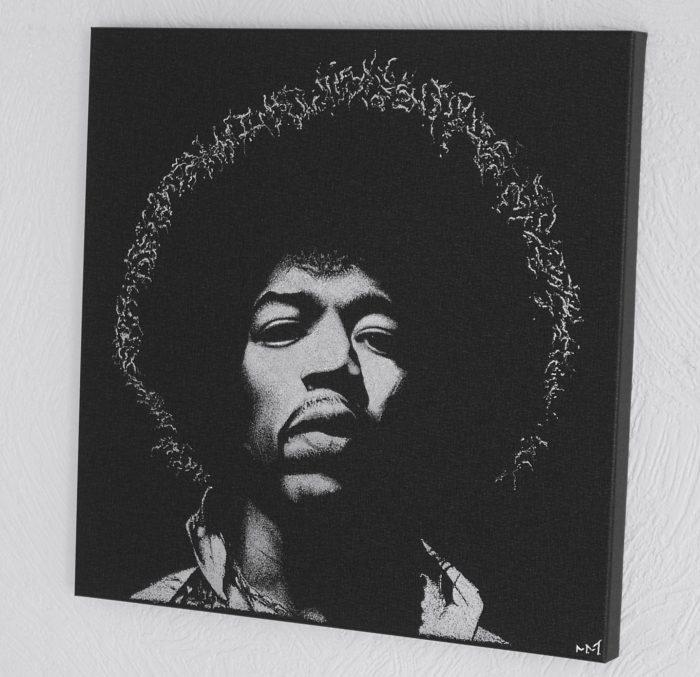 Jimi Hendrix - engraver image