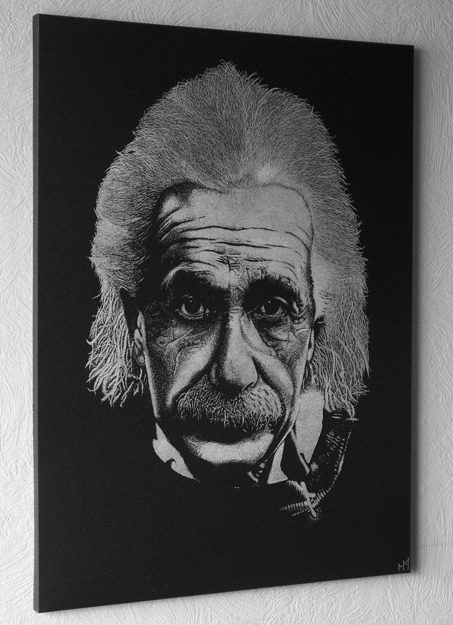 ALBERT EINSTEIN - ENGRAVING
