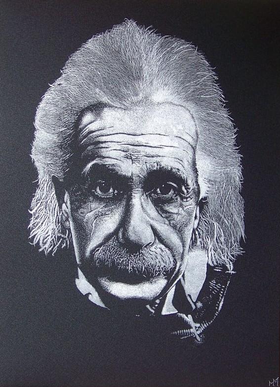 Albert Einstein - Portret