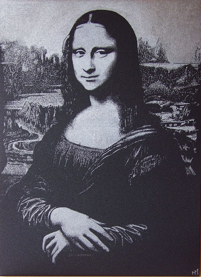 Reprodukcja L.Da Vinci  Mona Lisa.