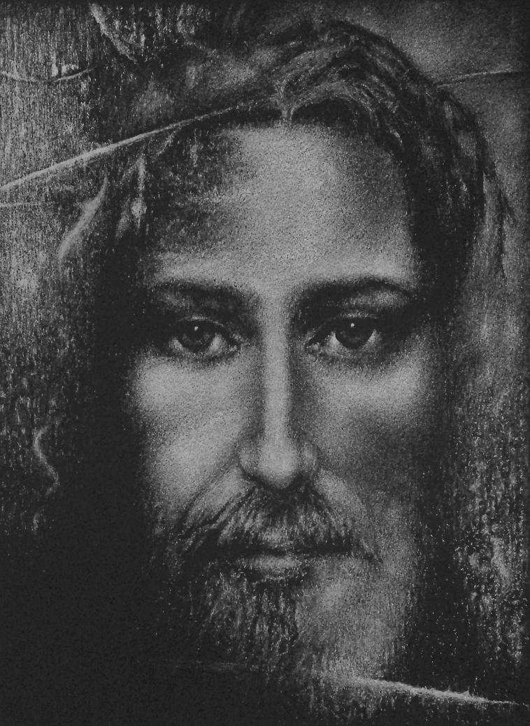 JEZUS CHRYSTUS - Grawerka