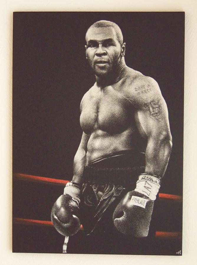 Tyson - Obraz grawerowany na blasze
