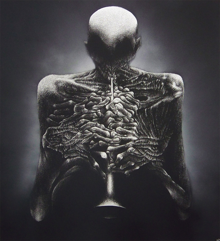 Insp. Z.Beksiński - Engraving