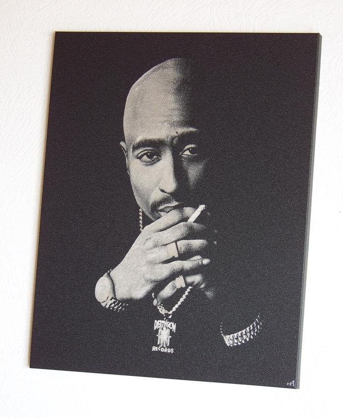 Tupac - grawerka