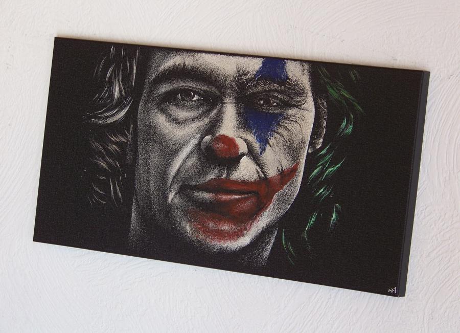 JOKER - Joaquin Phoenix - engraving